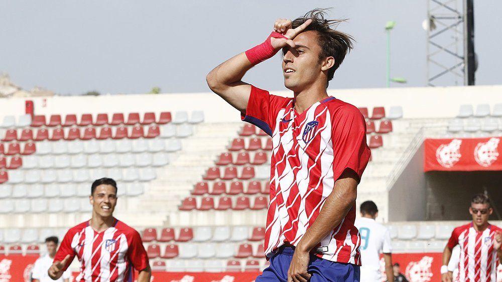 El Atlético de Madrid levanta la Copa del Rey Juvenil con dos tinerfeños en sus filas