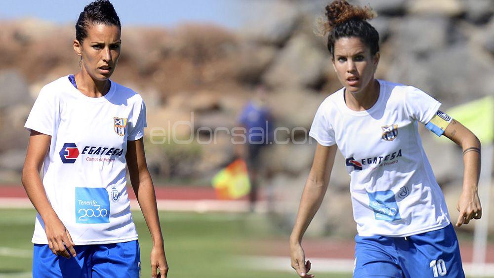 Silvia Doblado y Cindy García renuevan con la UDG Tenerife