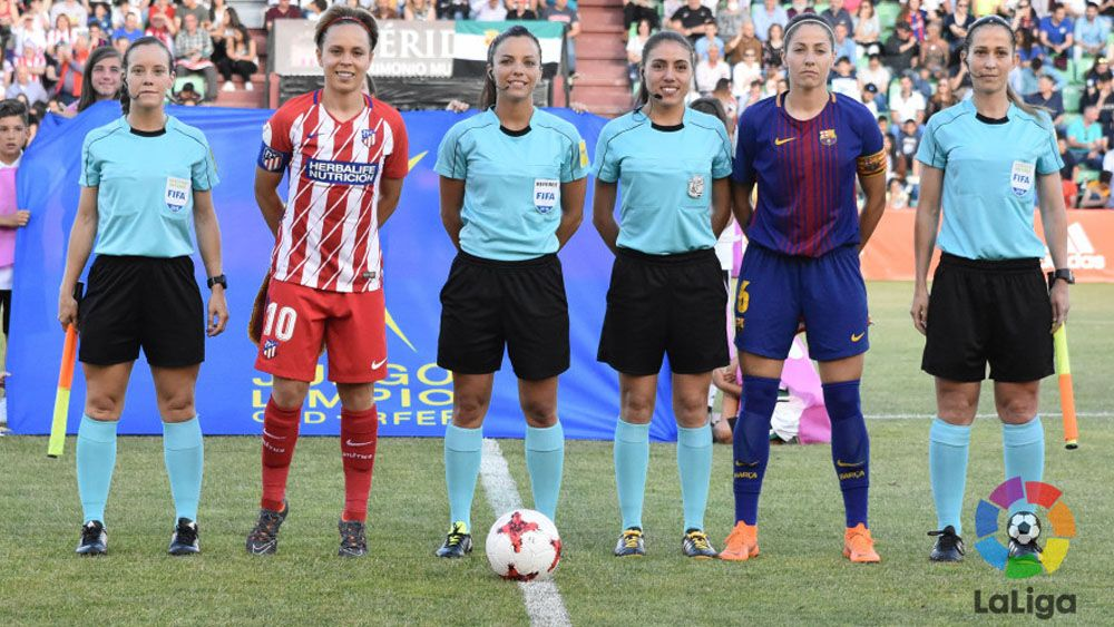 Marta Huerta, mejor árbitra de España