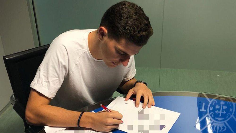 Edu Niebla, segunda incorporación para el filial del CD Tenerife