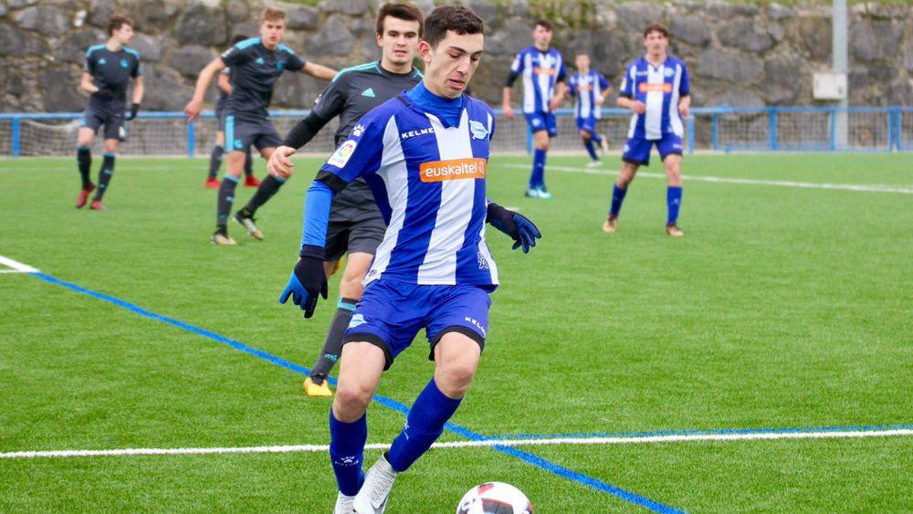Héctor Castillo, del CD Sobradillo al primer equipo del Deportivo Alavés