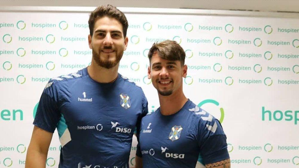Las equipaciones de entrenamiento del CD Tenerife causan una grata primera impresión