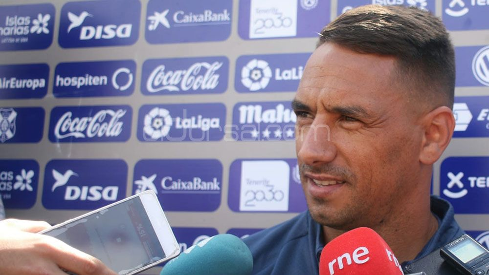 """Suso: """"El CD Tenerife será un equipo competitivo, a pesar de que se han ido jugadores importantes"""""""