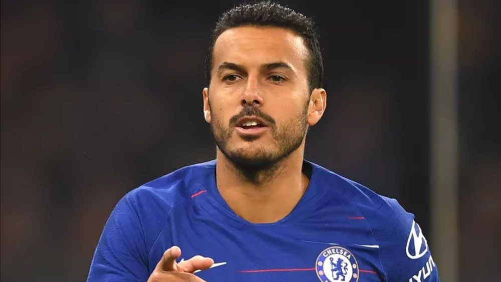 Pedro empieza la pretemporada con el Chelsea viendo portería