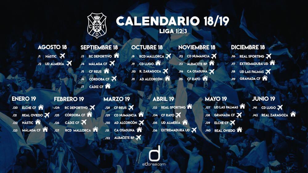 Calendario Ud Las Palmas.Ya Hay Fecha Para El Cd Tenerife Ud Las Palmas Eldorsal Com