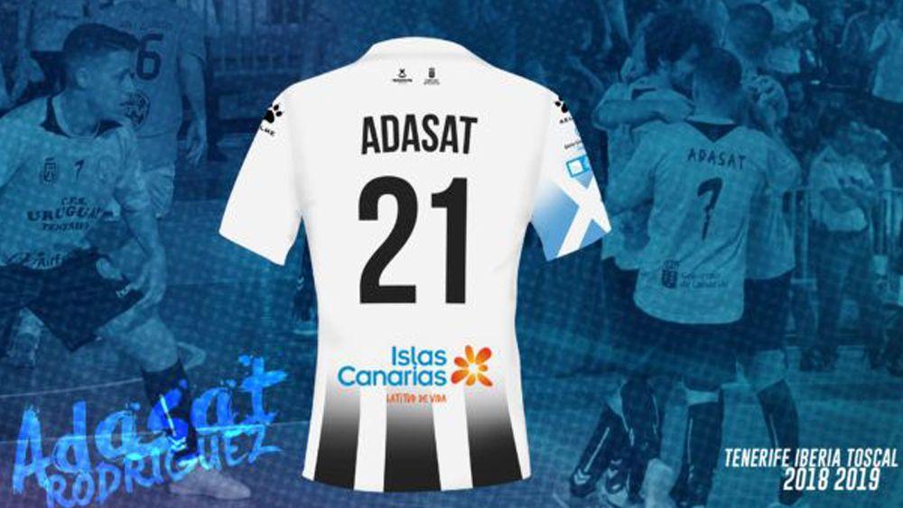 Adasat se incorpora al Tenerife Iberia Toscal 18-19