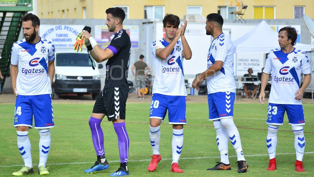 Las imágenes de una nueva victoria del CD Tenerife en pretemporada