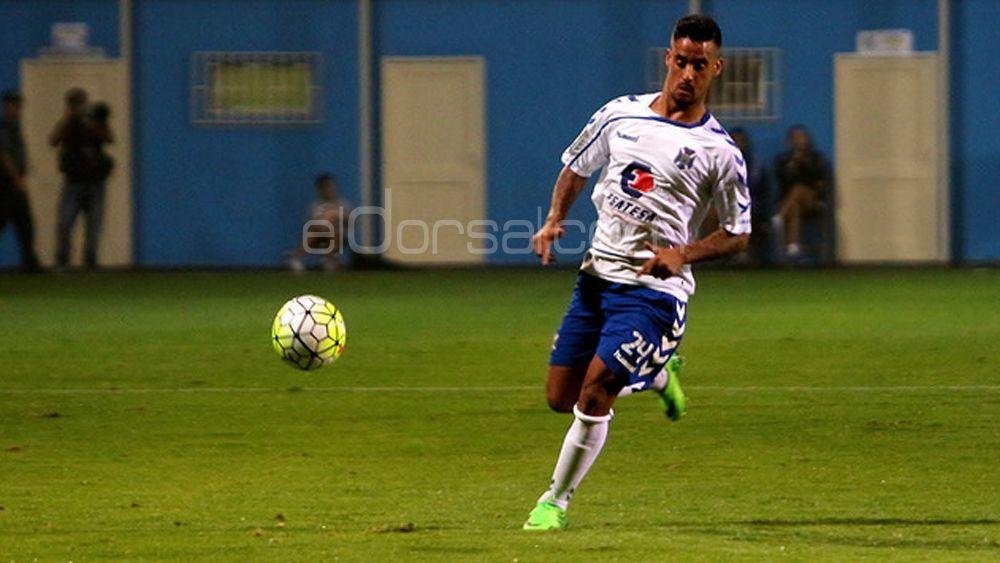 Nano se lesiona y es duda para el debut liguero del CD Tenerife