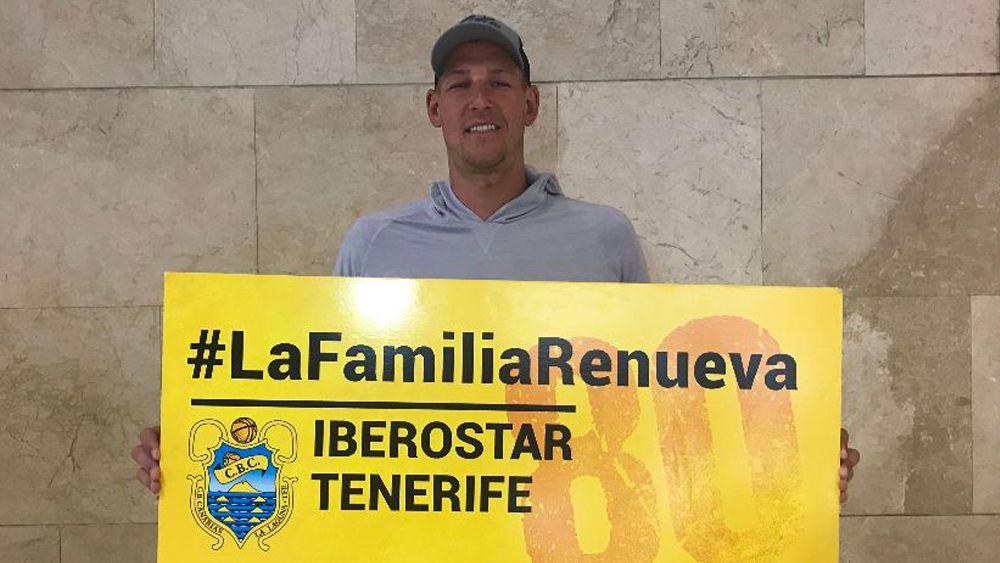 "Colton Iverson: ""Vengo al Iberostar Tenerife a trabajar muy duro"""