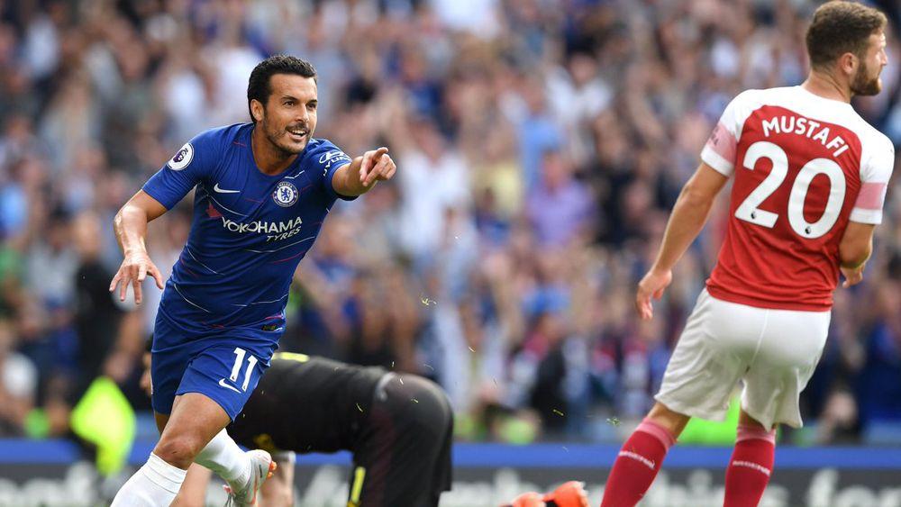 Pedro, dos goles en dos jornadas con el Chelsea