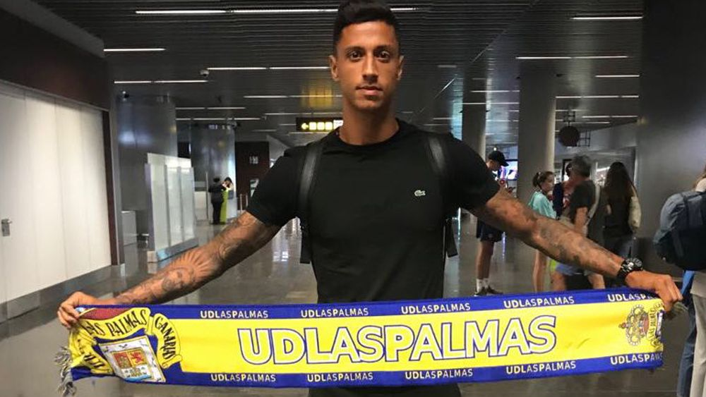 """Maikel Mesa: """"Si marco ante el CD Tenerife, lo celebraré"""""""