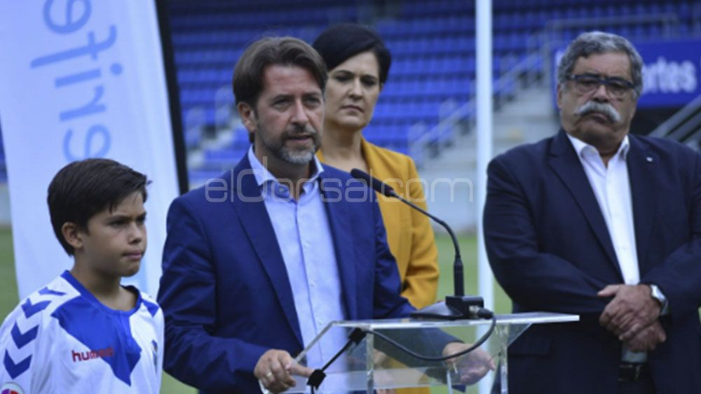 carlos alonso en un acto del CD Tenerife | Iván González