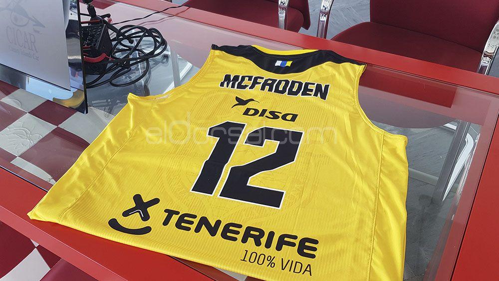 "McFadden: ""Elegir al Iberostar Tenerife fue fácil"""