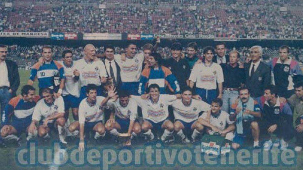El CD Tenerife y su conquista del prestigioso Trofeo Joan Gamper
