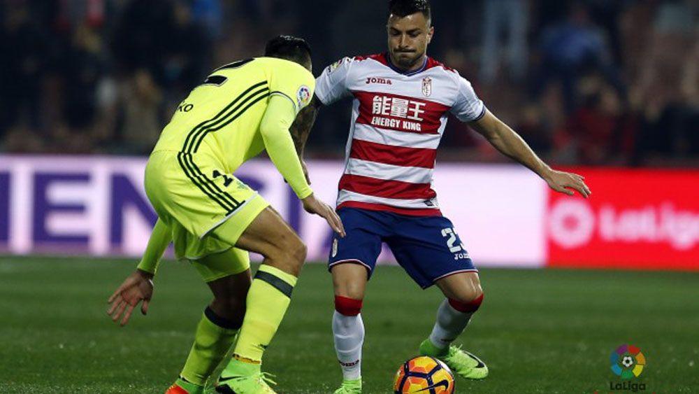 Héctor Hernández, agradecido por la acogida de la afición del CD Tenerife