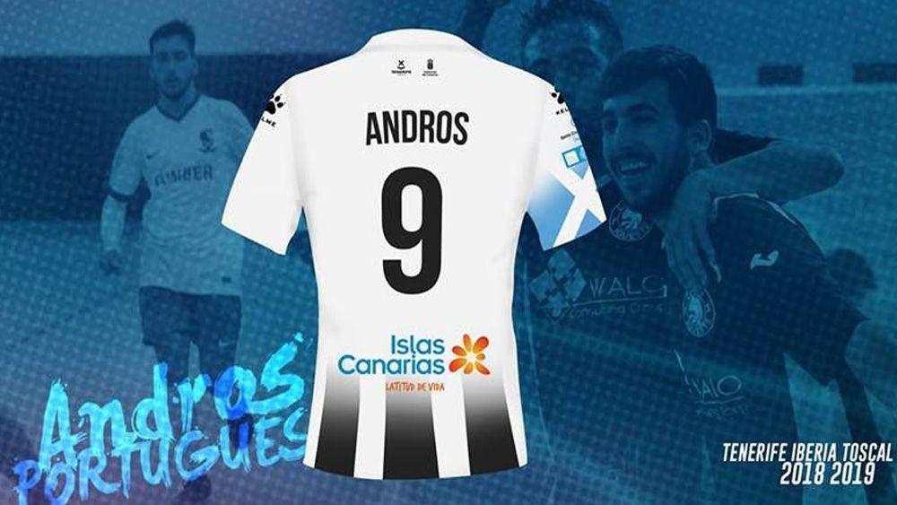 Andros Portugués, nueva incorporación del Tenerife Iberia Toscal