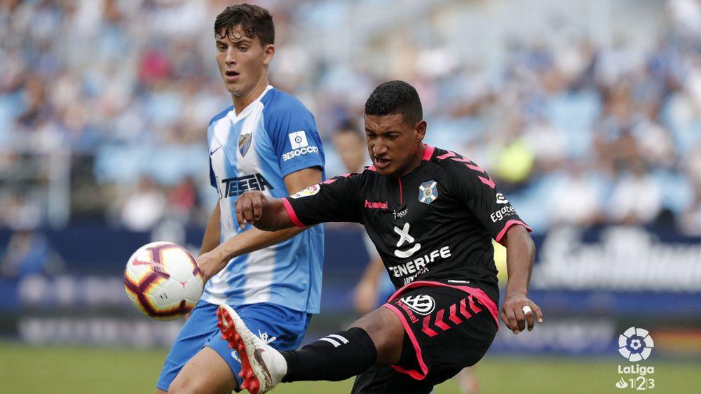 La reacción del CD Tenerife en Málaga, sin premio