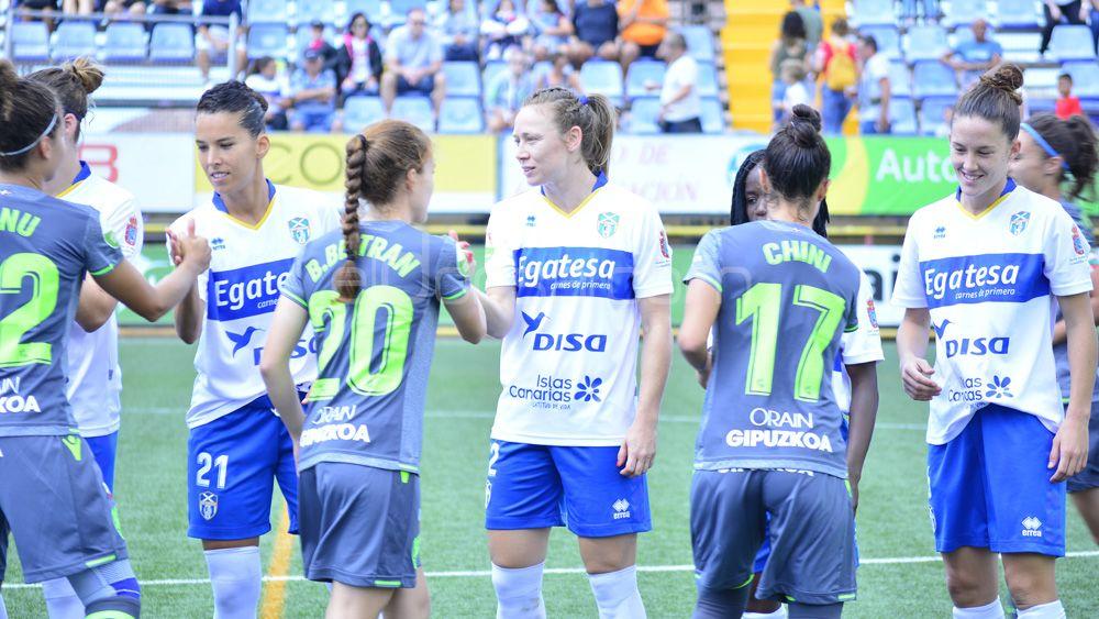 El estreno de la UDG Tenerife ante al Real Sociedad, en imágenes