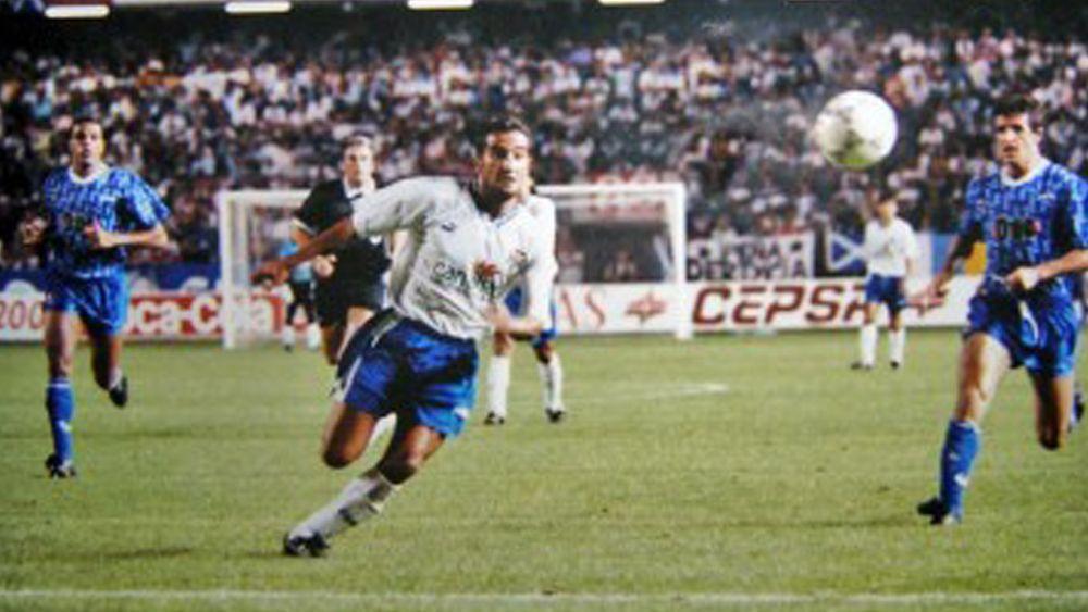 El primer partido del CD Tenerife en Copa de la UEFA cumple sus bodas de plata