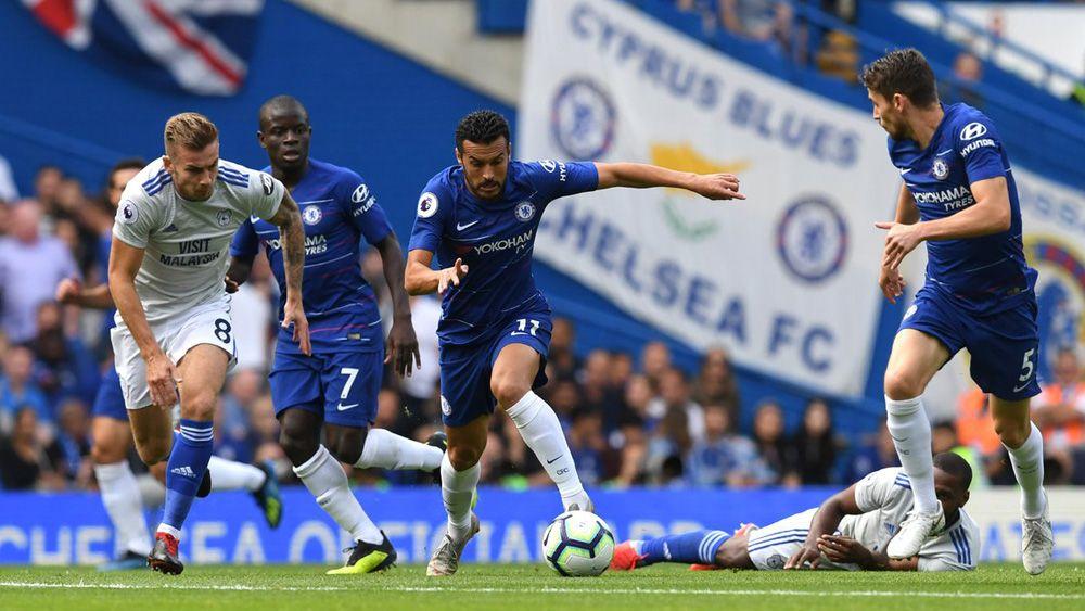 Pedro celebra con una victoria sus 100 partidos en Premier League