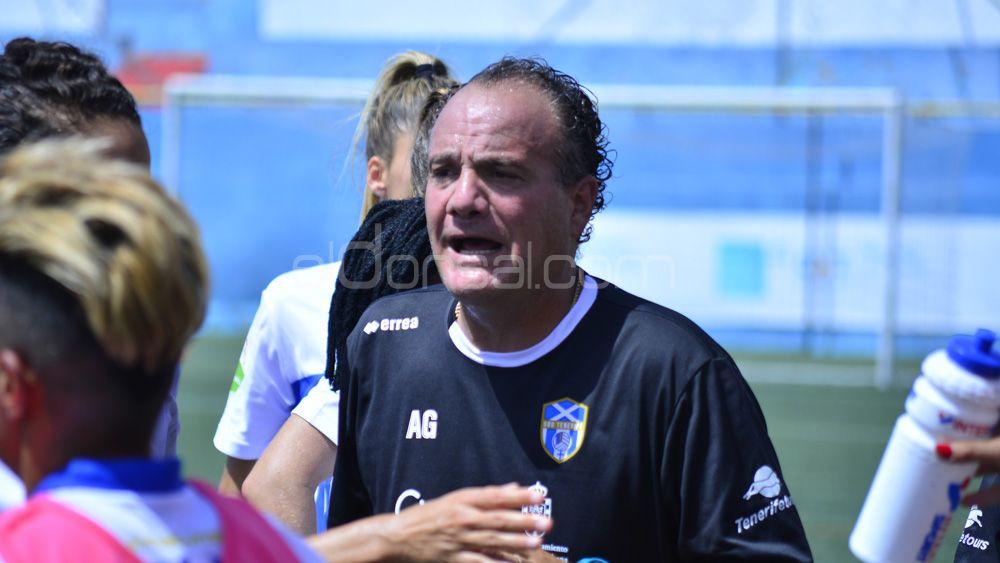 """Antonio González: """"La UDG Tenerife dedica esta gran victoria a Toni Ayala"""""""