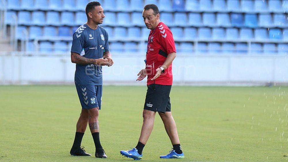 La petición de José Luis Oltra a los jugadores del CD Tenerife