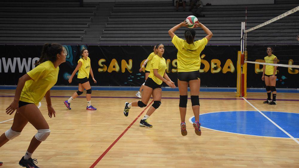 CV Aguere – CV Torrejón, ilusionante debut en casa para el equipo lagunero