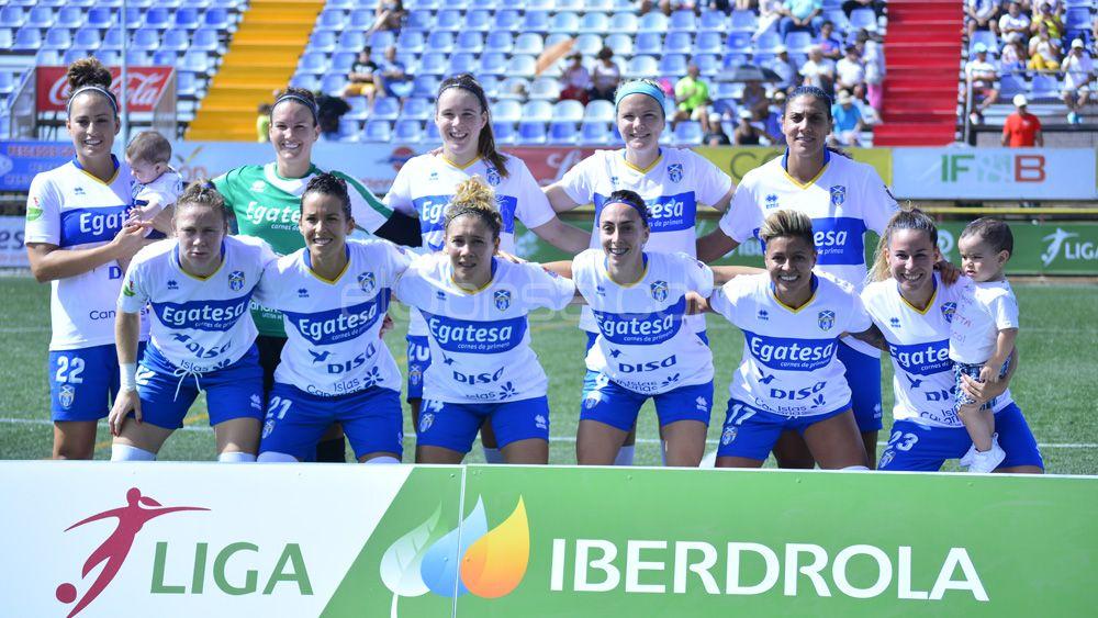 La UDG Tenerife, sin nada que perder ante el líder de la Liga Iberdrola