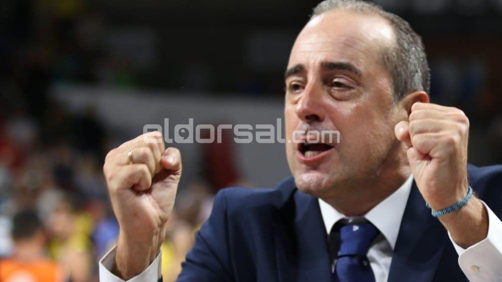 Vidorreta entrenador del Iberostar Tenerife | jacfotografo