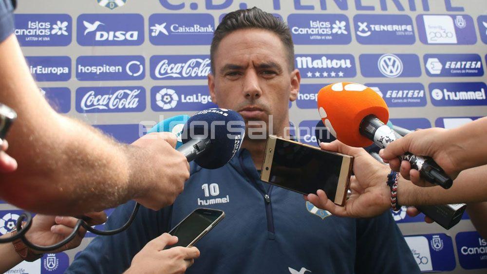 Las caras de la semana más dura del CD Tenerife