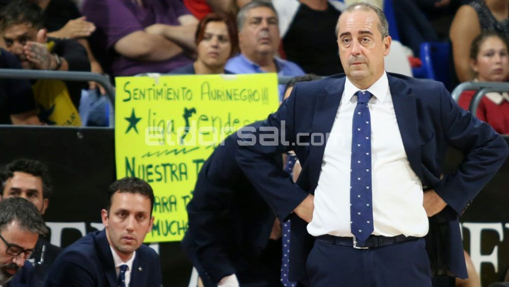 """Txus Vidorreta: """"Hemos abierto la diferencia desde nuestra defensa"""""""