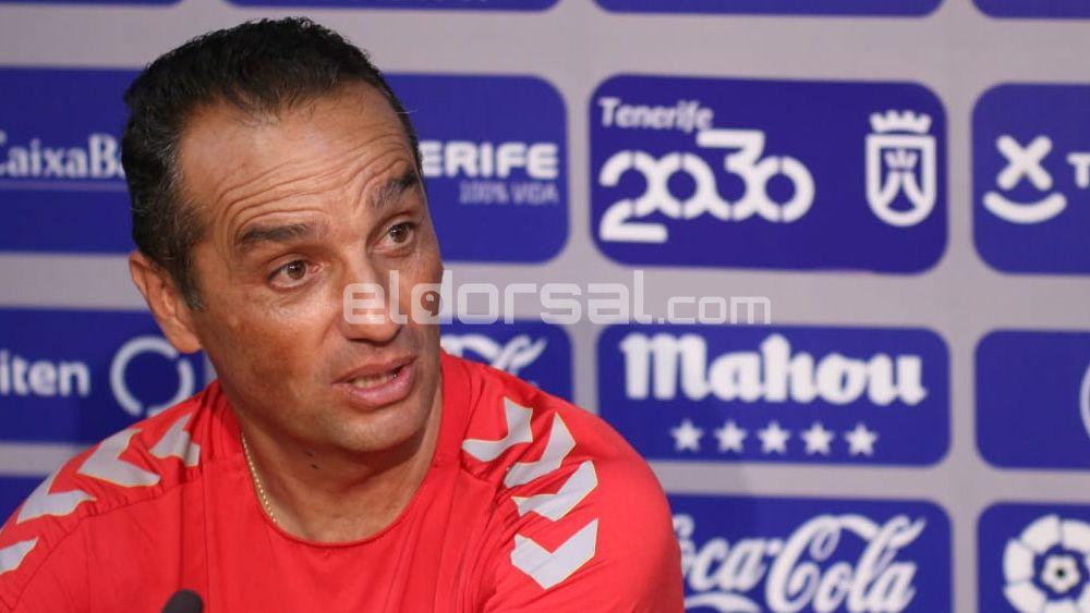 """Oltra: """"Pediría al Heliodoro que no nos presionara en el CD Tenerife – CD Lugo"""""""
