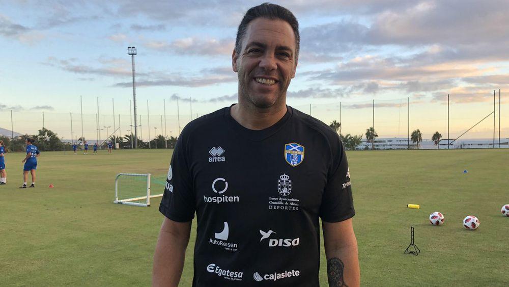 """Pier: """"Es increíble el nivel de competitividad de la UDG Tenerife, estoy gratamente sorprendido"""""""