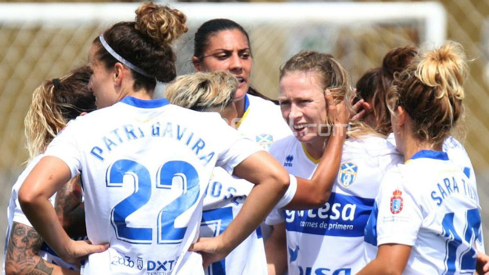 Así fue el gol de Joyce para dar los tres puntos a la UDG Tenerife