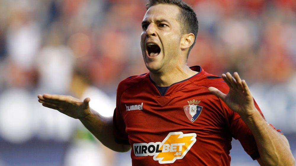 Así fue el tercer gol de Juan Villar con el Osasuna