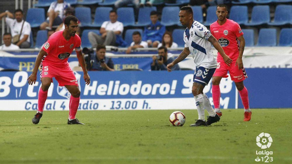 Suso Santana repite como jugador más destacado del CD Tenerife