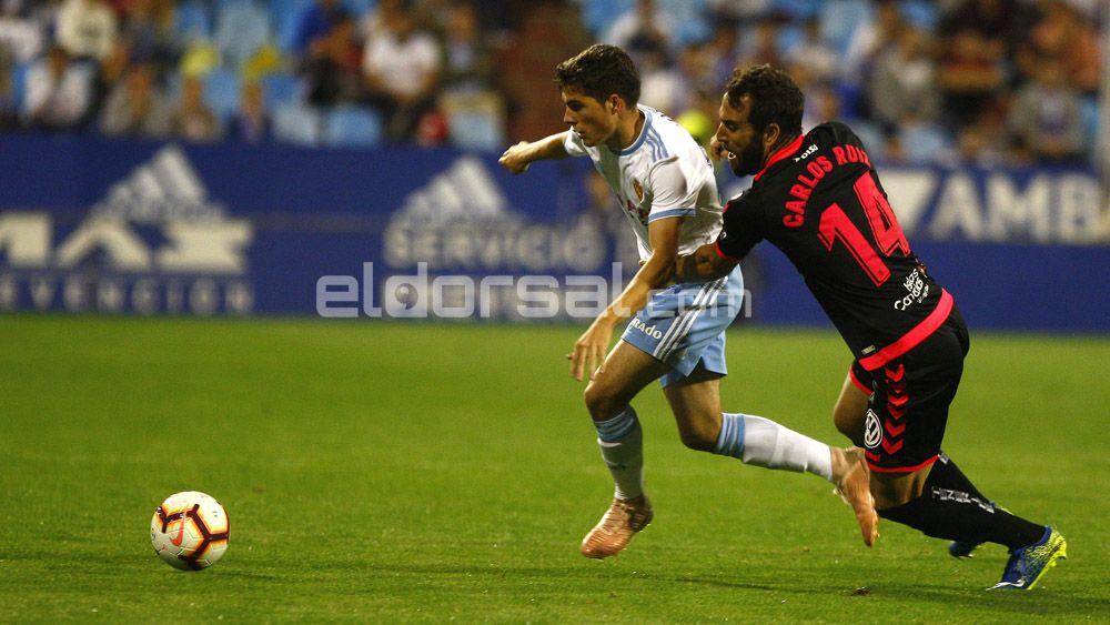 Los jugadores del CD Tenerife hacen una lectura positiva del empate en Zaragoza