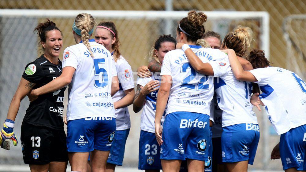 La UDG Tenerife, con una quinta temporada en Liga Iberdrola en el bolsillo