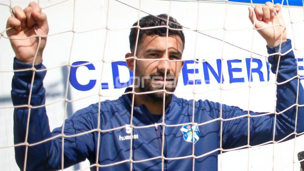 """Alberto: """"Estoy contento con la afición por aguantar, y no pitar al CD Tenerife con 0-2"""""""