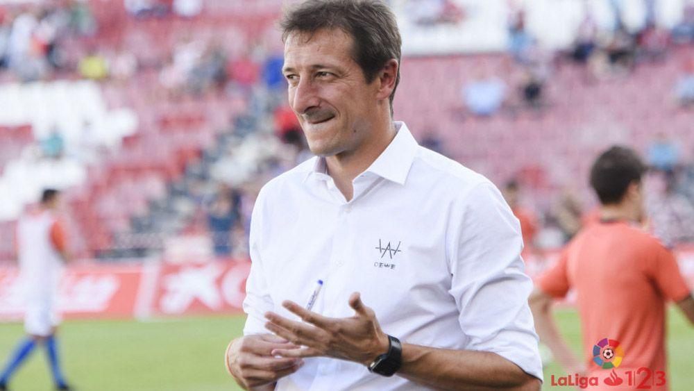 El ex del CD Tenerife Luis Miguel Ramis, ante un partido especial