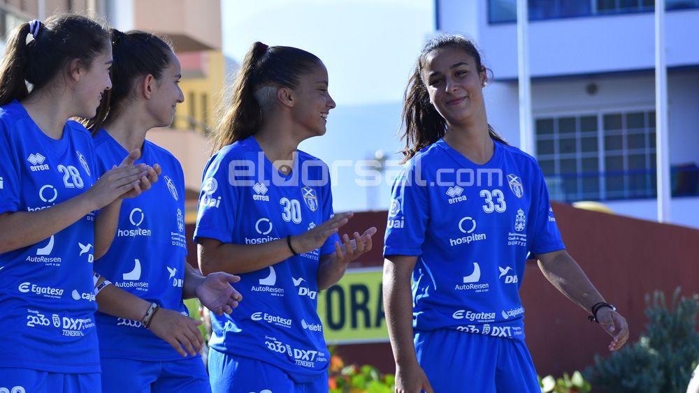 La jugadora de la UDG Tenerife Paola Hernández se estrena a lo grande en el Mundial sub-17