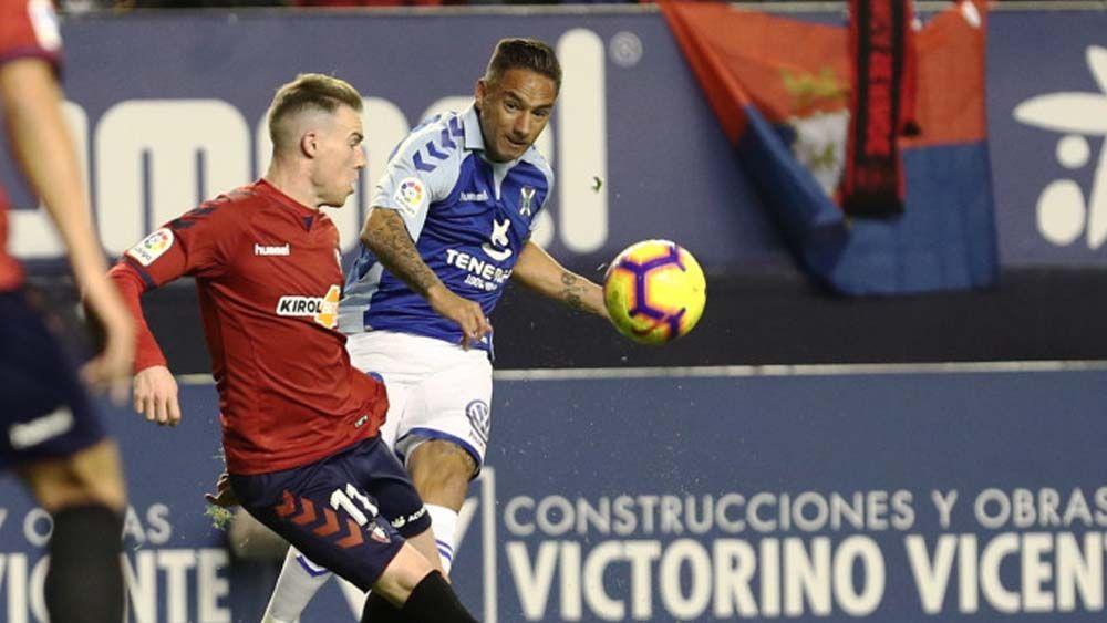 Elige al mejor del CD Tenerife ante el Osasuna