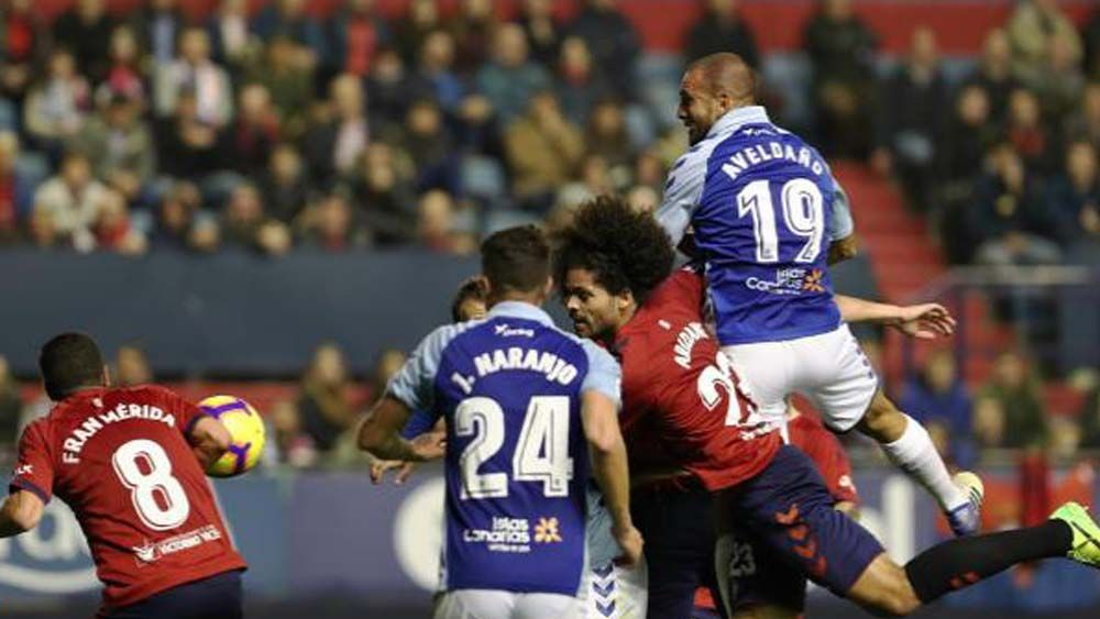 Así fue la derrota del CD Tenerife en El Sadar ante Osasuna