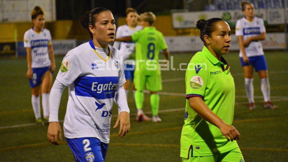 Las jugadoras menos habituales de la UDG Tenerife disfrutan de minutos