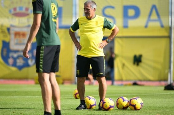 Paco Herrera, técnico de la UD Las Palmas