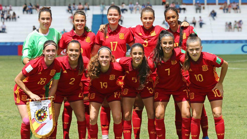 La jugadora de la UDG Tenerife Paola Hernández, a semis del Mundial sub-17