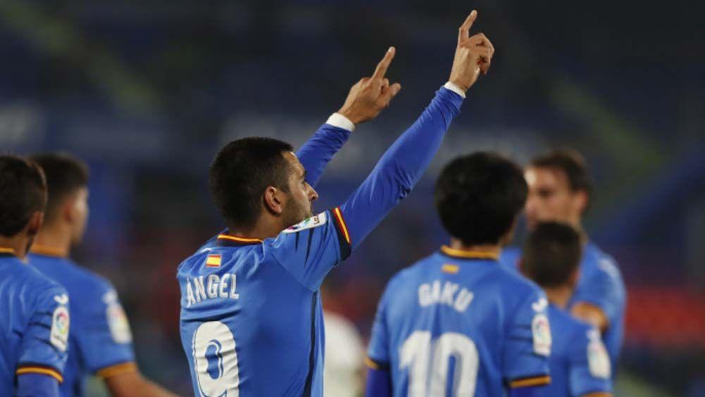 Así fue el gol del tinerfeño Ángel Rodríguez para el Getafe ante el Valladolid