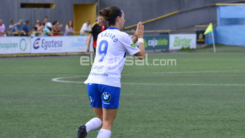 La UDG Tenerife vuelve a tropezar y suma su cuarta derrota consecutiva