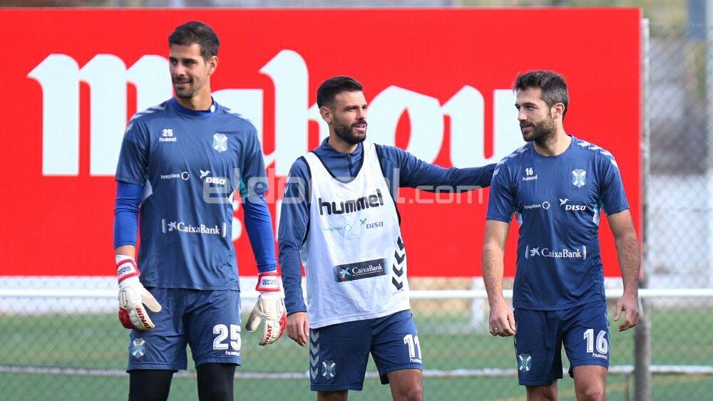 Aitor Sanz está de vuelta con el CD Tenerife