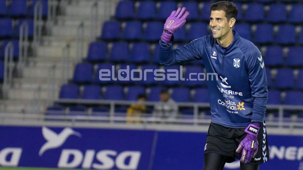 Sitúan al portero del CD Tenerife Dani Hernández en la liga venezolana